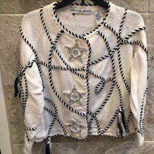 Michael Simon Size 1 Embellished sweater